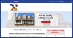American Metal Roofs Website