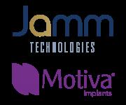Logo JAMM Technologies and Motiva Implants
