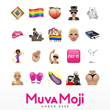"Amber Rose Ranks #1 In Apple App Store with New Collection of ""Muva Moji"" Custom Icons Created By Moji"
