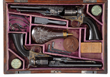 Extraordinarily Rare Cased Consecutive Numbered Pair of Exhibition Quality Colt Model 1860 Army Percussion Revolvers, Sold for $212,750