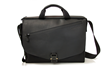 The New! Cargo Bag—black leather flap