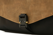 The New! Cargo Bag—authentic paragliding buckle closure close-up