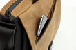 The New! Cargo Bag—secret phone compartment inside front flap zippered pocket