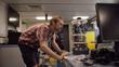 Chief Scientist Dr. Tom Kwasnitschka carefully examines the video equipment (Credit: SOI/ Bjoern Kurtenbach).