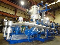 Energy efficient ammonia refrigeration plant - Star Refrigeration - Huntsman