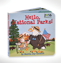 A board book to inspire the future stewards of our national parks