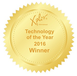 Xploration 16 Tech of the year award