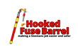 The Hooked Fuse Barrel is specifically designed for linemen or other people who need to work around electrical poles.