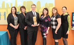 GNP Company accepts 2016 Hunger Hero award