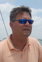 Ever the sailor, Navy vet Christopher Nuneviller would practice law from the open seas if the courts would allow it.