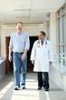 Andy Graber with Dr. Vivek Druva