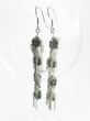 Gemstone Dangle Earrings By Van Der Muffin's Jewels