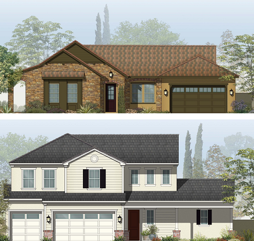 Mccaffrey homes to build first neighborhoods at the new for Riverstone house