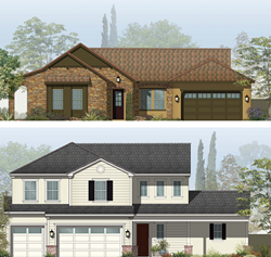 New Home Plans from McCaffrey Homes to be built in the Riverstone community in Madera County, CA