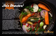 With the help of the Stir Master, the cooking process is significantly less tiring