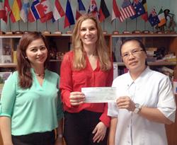International AutoSource Donation to Hospicio de San  Jose