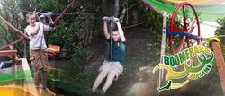 The Boomerang Zip Line will improve anyone's zip line experience.