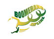Boomerang Zip Line is  an invention which  provides a more efficient zip line mechanism.