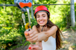 The Boomerang Zip Line provides a more efficient design and mechanism for this thrill-seeker's favorite