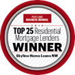 Skyline Home Loans ranks as one of the Top Residential Mortgage Lenders in Portland