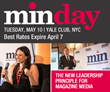 min Announces Full Speaker Line Up For min day Summit – May 10 in NYC