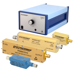 Pasternack's coaxial packaged noise sources covering frequency bands up to 60 GHz
