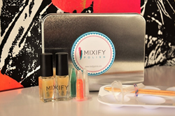 Mixify Polish Mini Kit as Gifted at GBK's 2016 MTV Movie Awards Celebrity Gift Lounge.