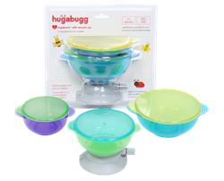 Baby and Toddler Bowls that Stick