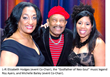 Music Legend Roy Ayers, WHUR's Tony Richards, and Celebrity Stylist and TV Personality Paul Wharton All-In for Charity