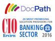 DocPath Recognized Among 20 Most Promising Banking Sector Solution Providers 2016