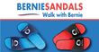 Bernie Sandals now available on Kickstarter