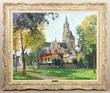 "Constantin Kluge, ""Cathedrale de Senlis en Automne"""