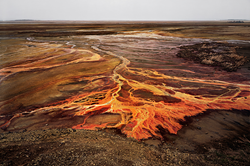 """Earth Songs"" is inspired by the photographs of Edward Burtynsky."