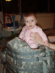 Baby in a ruck