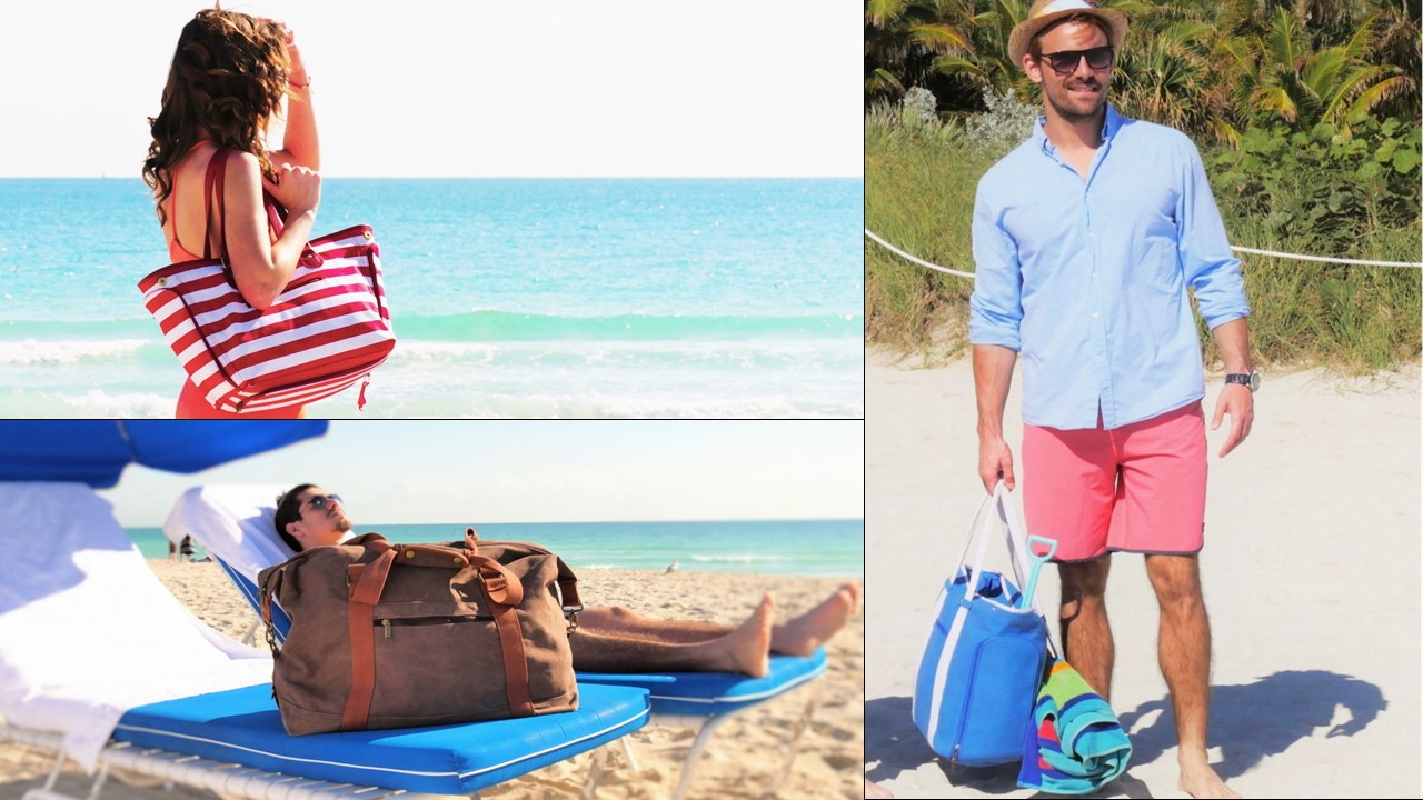 DEZZIO, The World's First Functional Beach Bag, Blasts Past its ...
