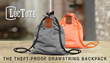 "Ohio Startup Releases The Most Practical and Theft-Proof ""Lock It and Leave It"" Drawstring Backpack Ever"