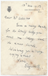 "A Christmas 1933 letter from a seven-year-old Elizabeth, thanking Adams for ""the lovely holly you sent me today"""