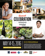 Tickets Now On Sale for the 18th Annual Sunset Celebration Weekend, May 14–15, 2016 in Sonoma Wine Country, Featuring Celebrity Chef Ludo Lefebvre