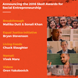 Skoll Foundation Announces Five $1.25 Million Skoll Awards for Social Entrepreneurship