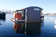Floating Lake Union home from Lanker Design
