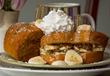 Banana Pecan Stuffed French Toast Voted Best B&B Breakfast