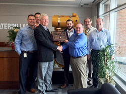 Platinum supplier certification from Caterpillar