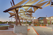 International Tension Structures,Scottsdale AZ job using Serge Ferrari Precontraint 502