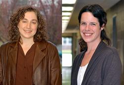 Alvernia Neag Professors Rosemary Chinni, Ph.D., and Ondra Kielbasa, Ph.D.
