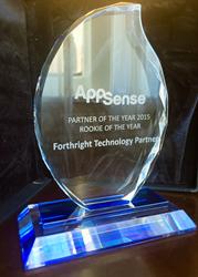 Forthright AppSense Award