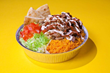 Above: The Halal Guys famous chicken-and-rice platter