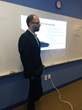 Paul Caiazzo, Principal and Chief Security Architect of TruShield presenting to Children's Law Center