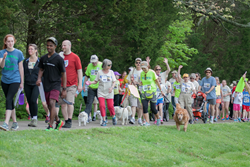 2015 Hike2Heal 5K in Nashville, Tennessee