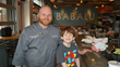 Asher Goudie and ​​Eric Bartholomew, Executive Chef of BABALU Birmingham