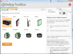 Define Instruments ToolBox Software